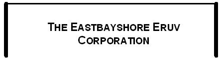 The Eastbayshore Eruv Corporation Logo